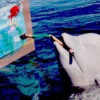 dolphinpainting